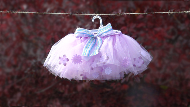 flower filled tutu