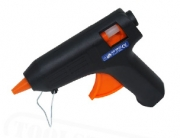 Black and orange hot glue gun